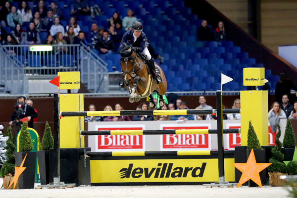 Sports Equestres 08/12/2017 CHI Geneve 2017  WHITAKER Michael (GBR) riding Calisto Blue during the CHI of Geneva 2017