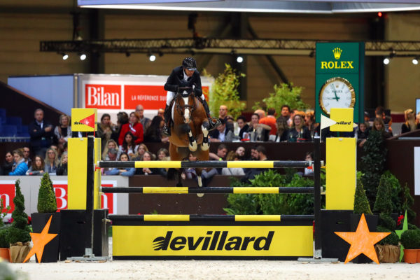 Sports Equestres 08/12/2017 CHI Geneve 2017  LAMAZE Eric (CAN) riding Coco Bongo during the CHI of Geneva 2017