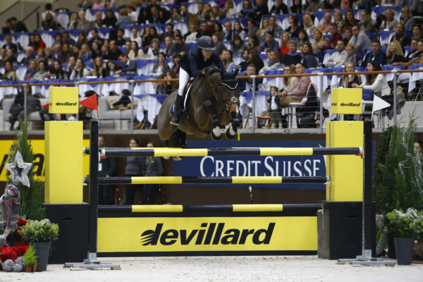 Sports Equestres 10/12/2017 CHI Geneve 2017  POLLE Karen (JPN) riding With Wings during the CHI of Geneva 2017